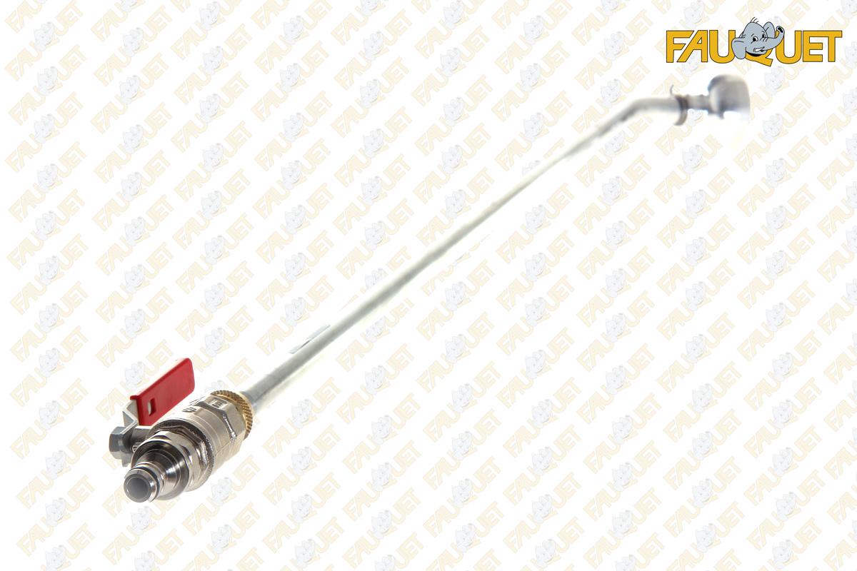 Металлическая лейка с фиксированной головкой