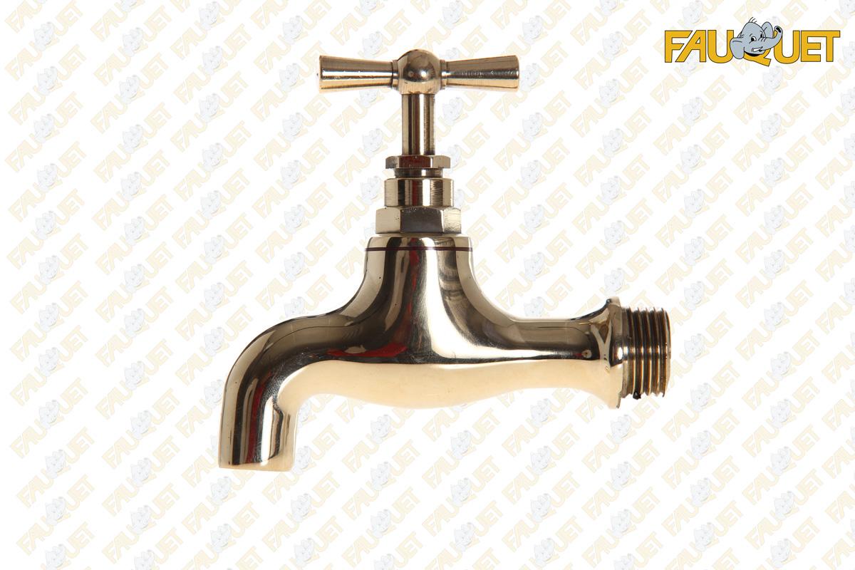Faucet with spout
