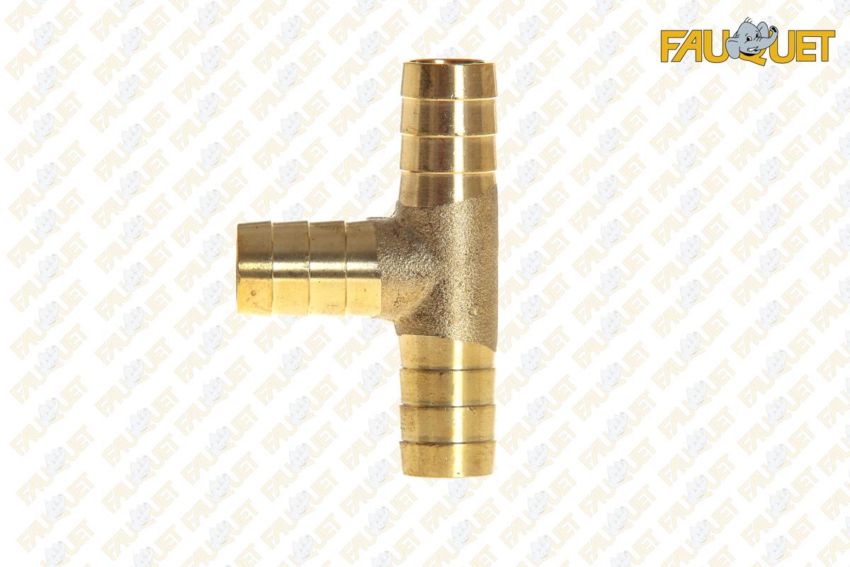 Brass PTR tee
