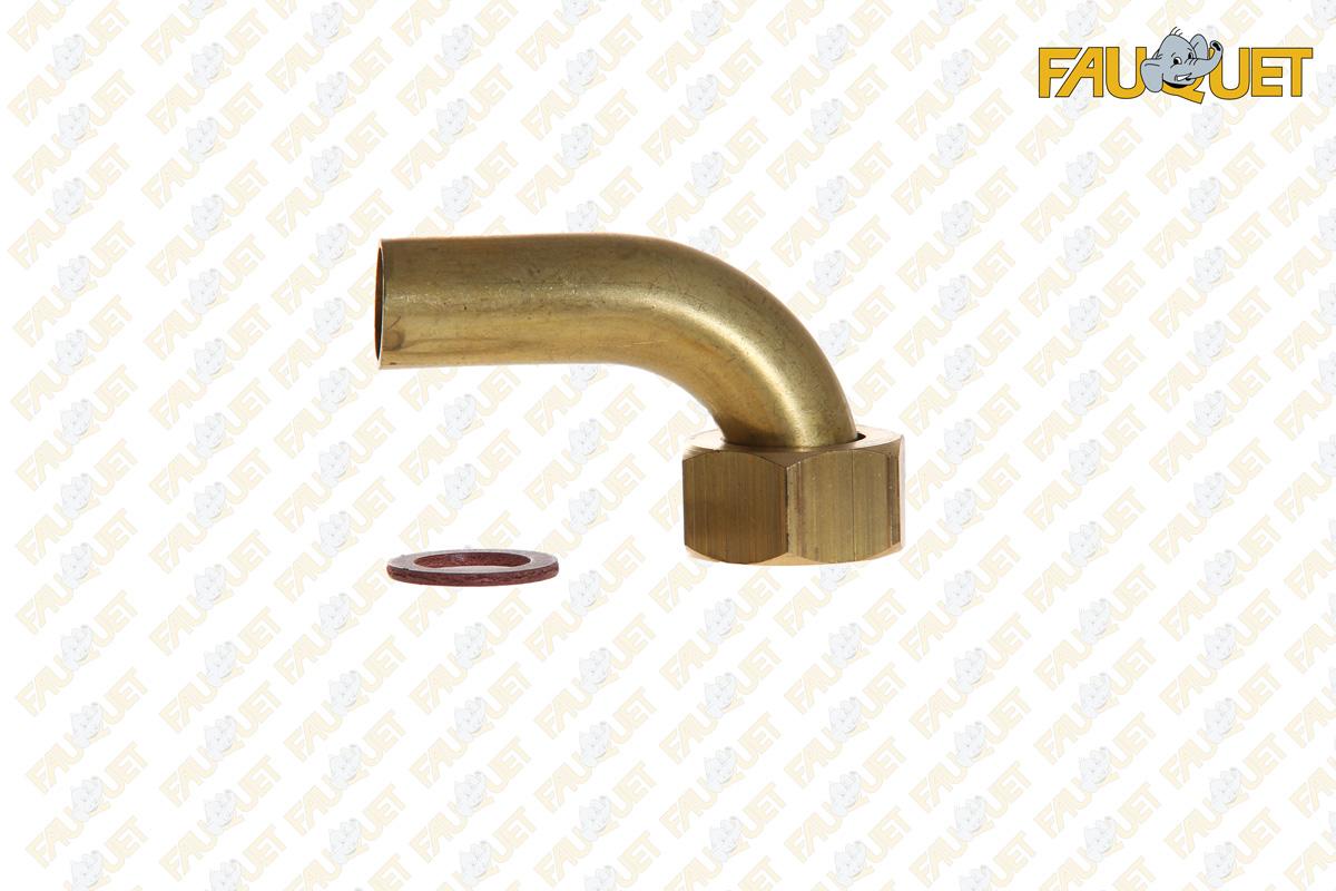 Elbow fitting brass