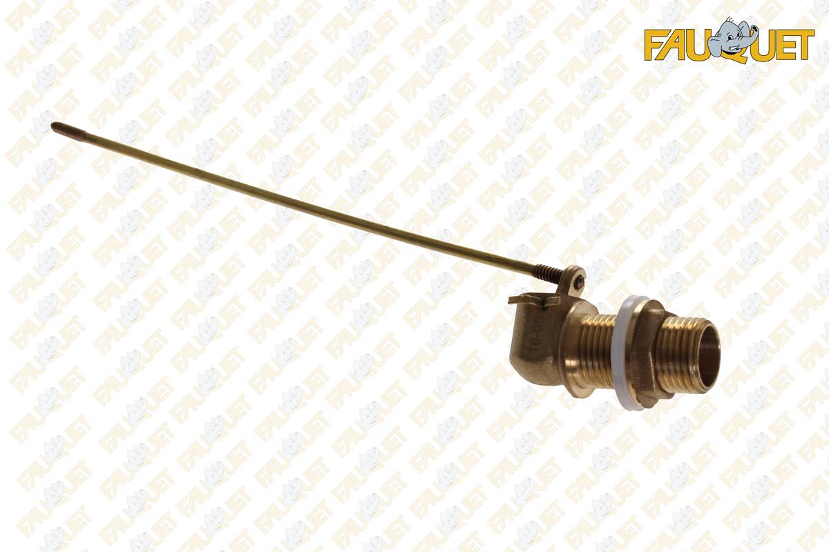 Straight shank float valve