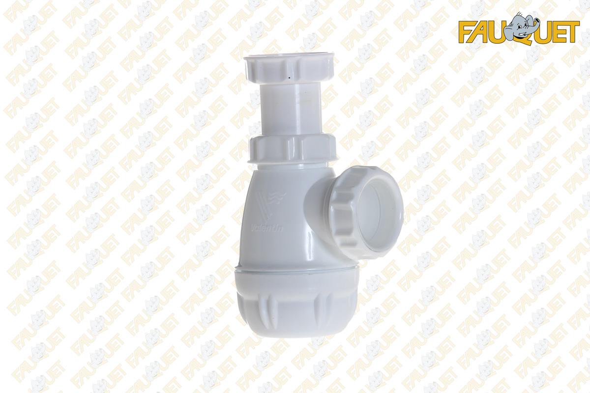 Adjustable siphon for bidet