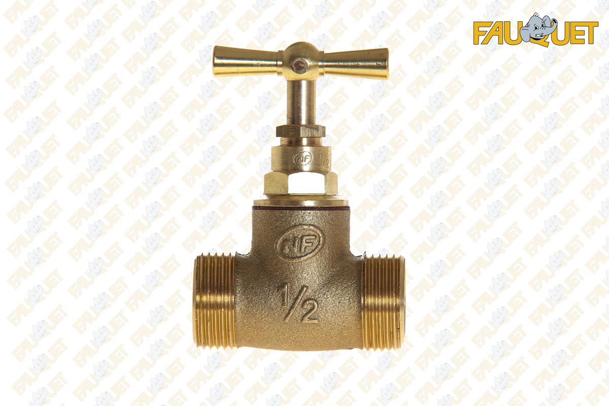 Shut-off valve (male-male)