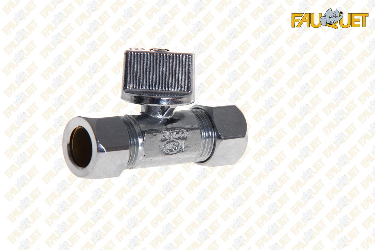 Direct flush tap