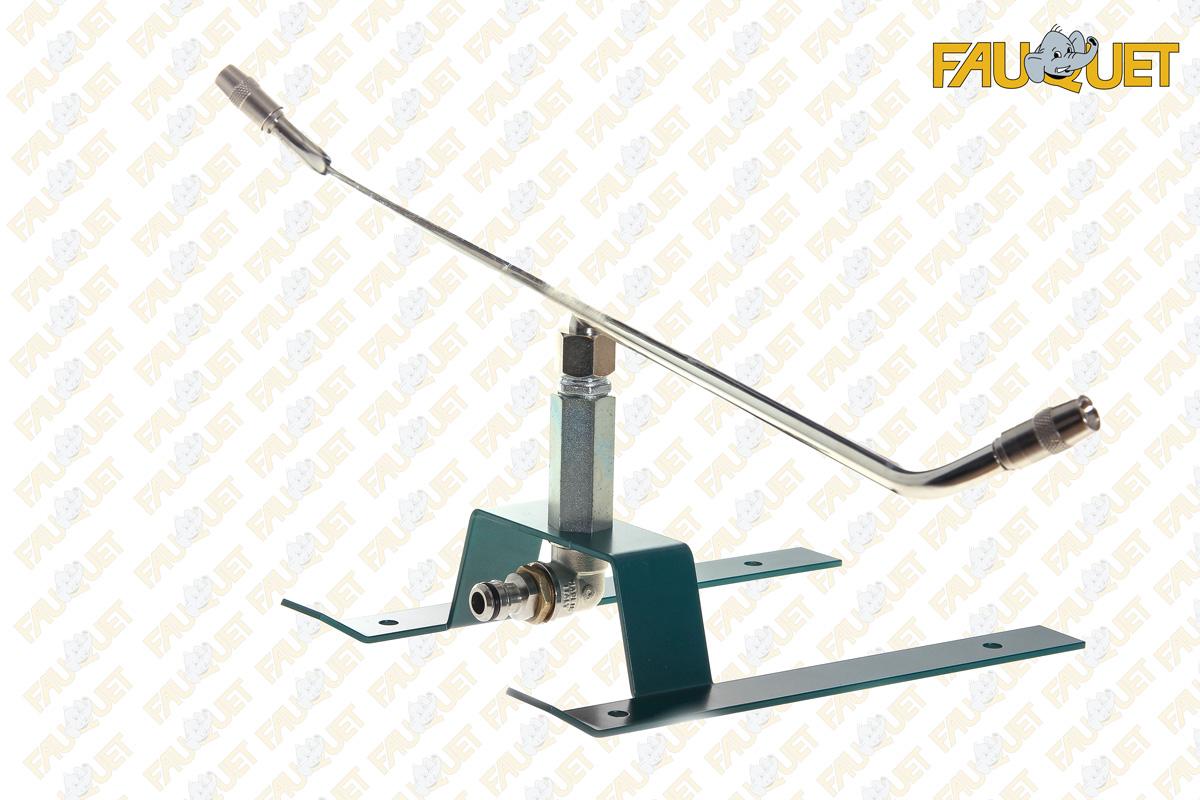 Rotary sprinkler s / sled (adjustable spray)