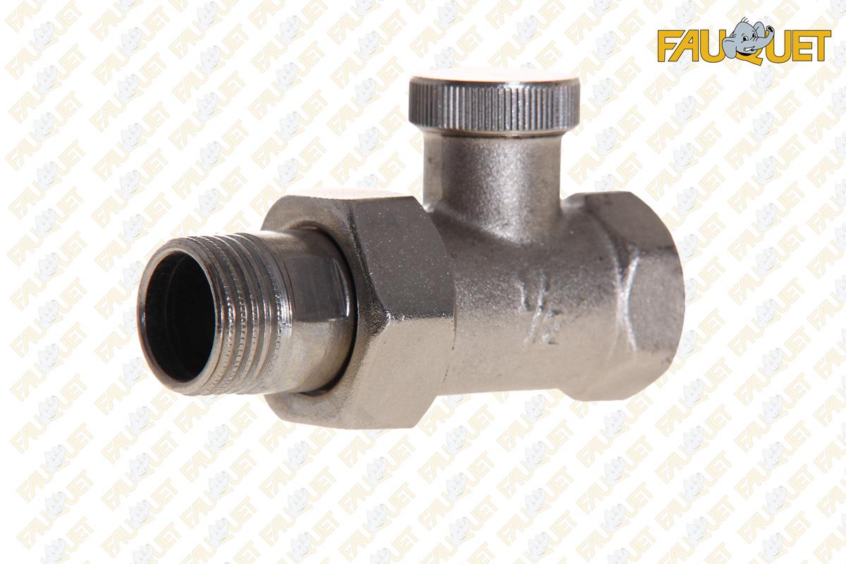 The tee valve adjustment