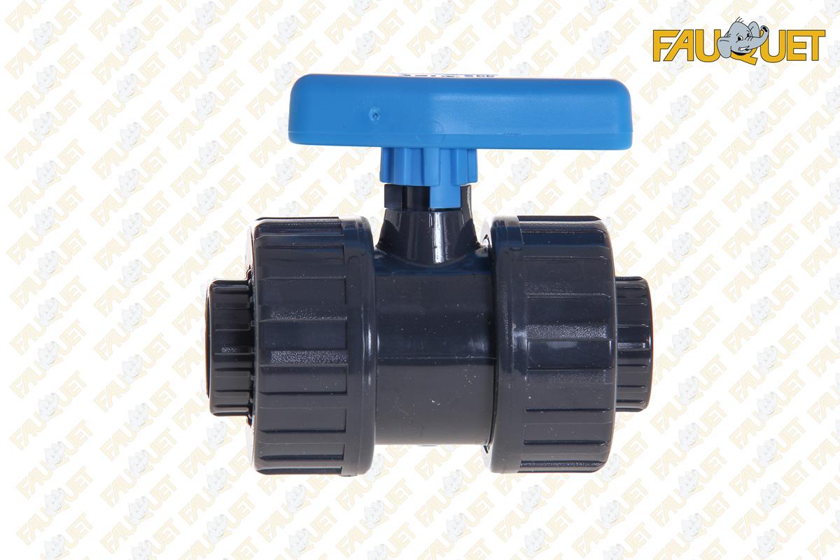 Screw-in PVC pressure ball valve (female-female)